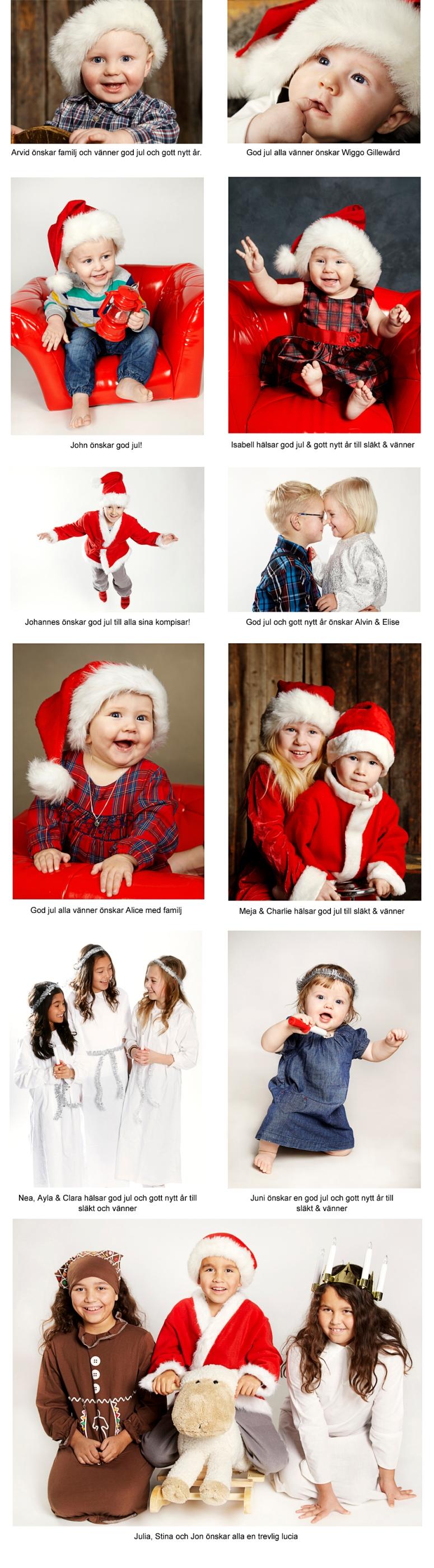 julfotografering
