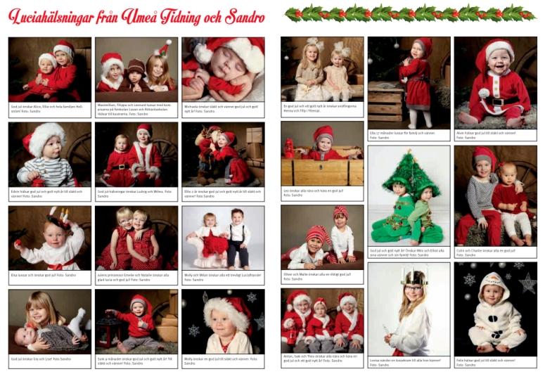 julfotografering umeå