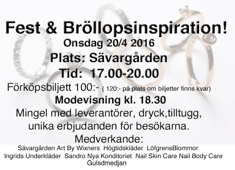 Fest & Brollop